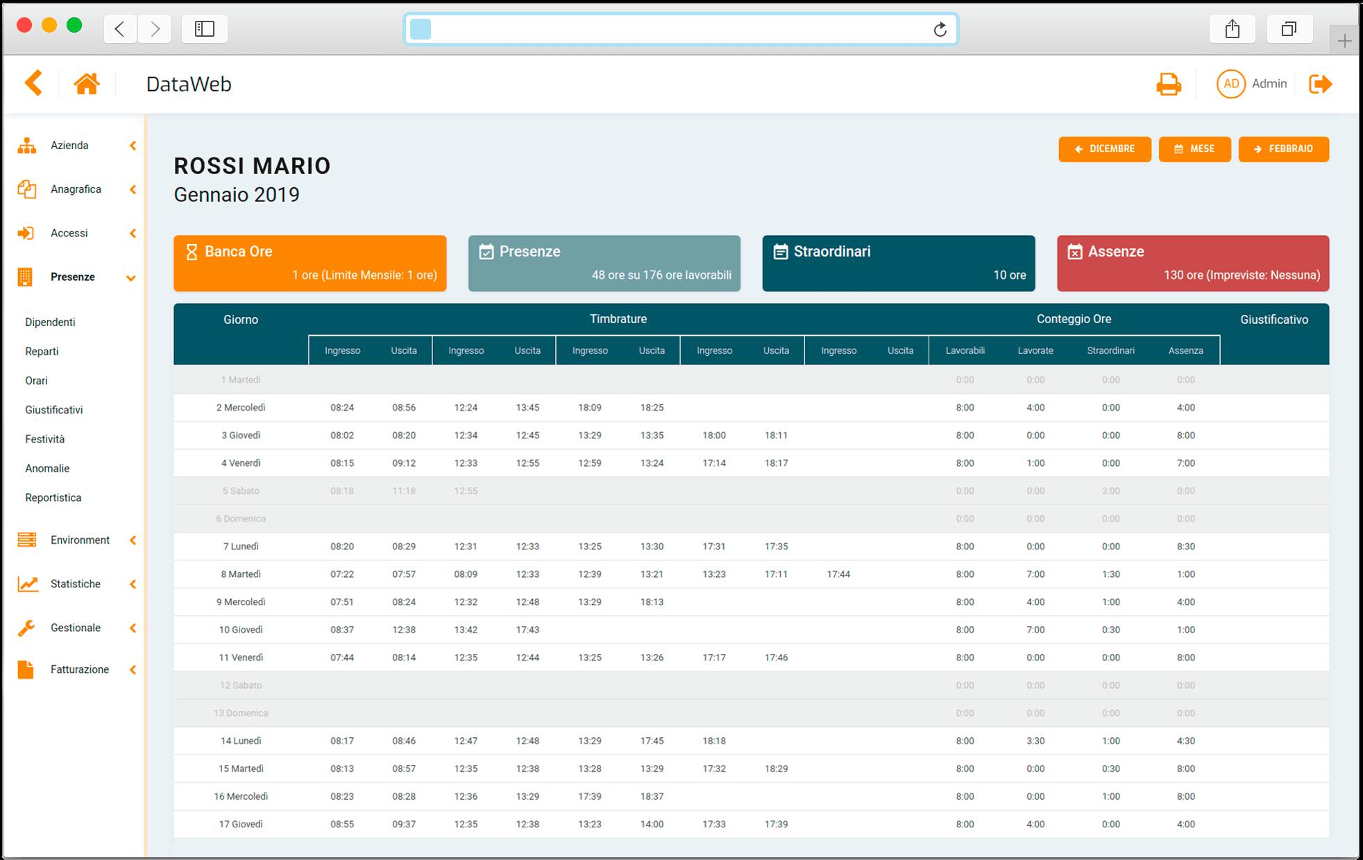 Dataweb-Gestione-Presenze