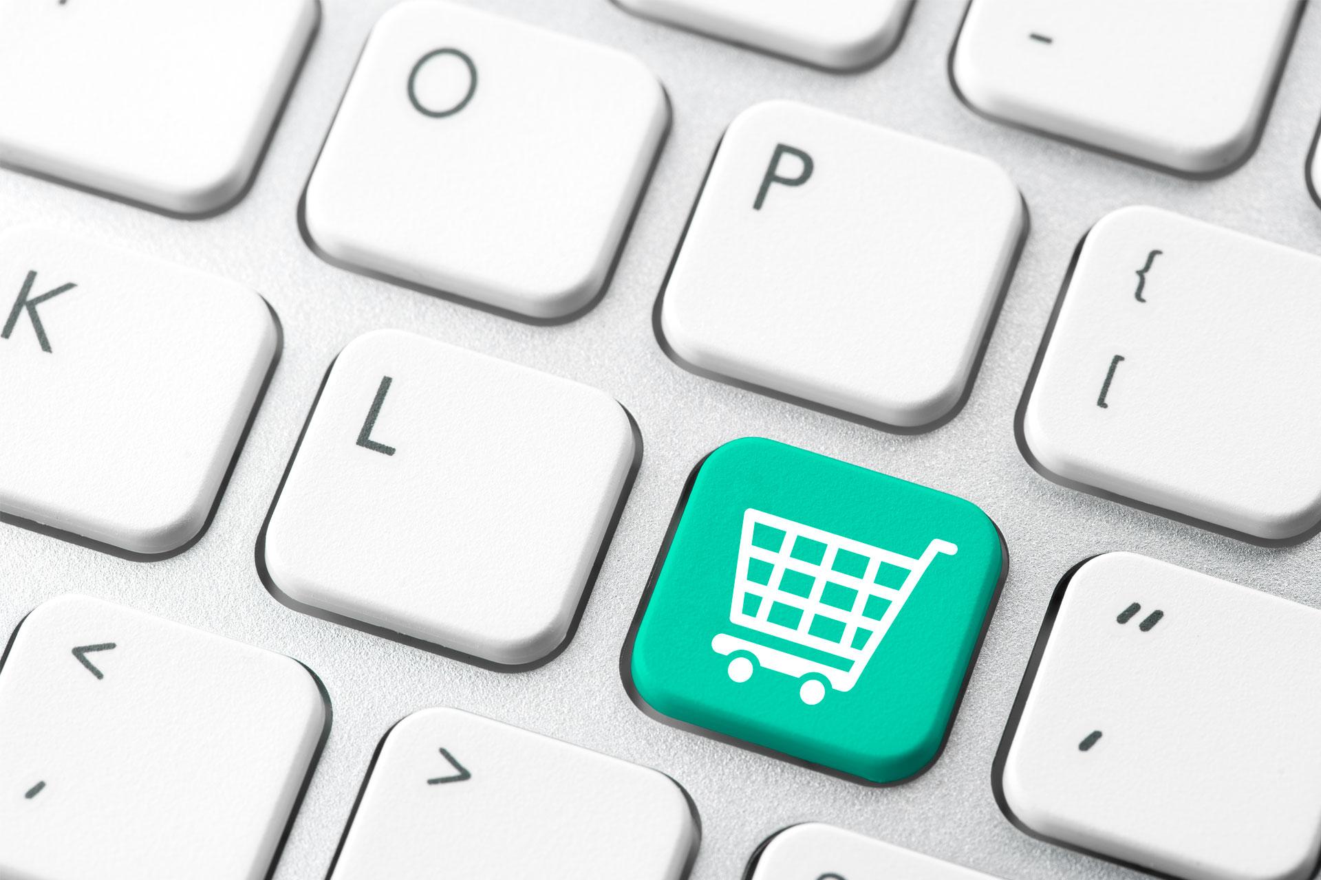 Banner copertina modulo e-commerce software gestionale Telnet Data