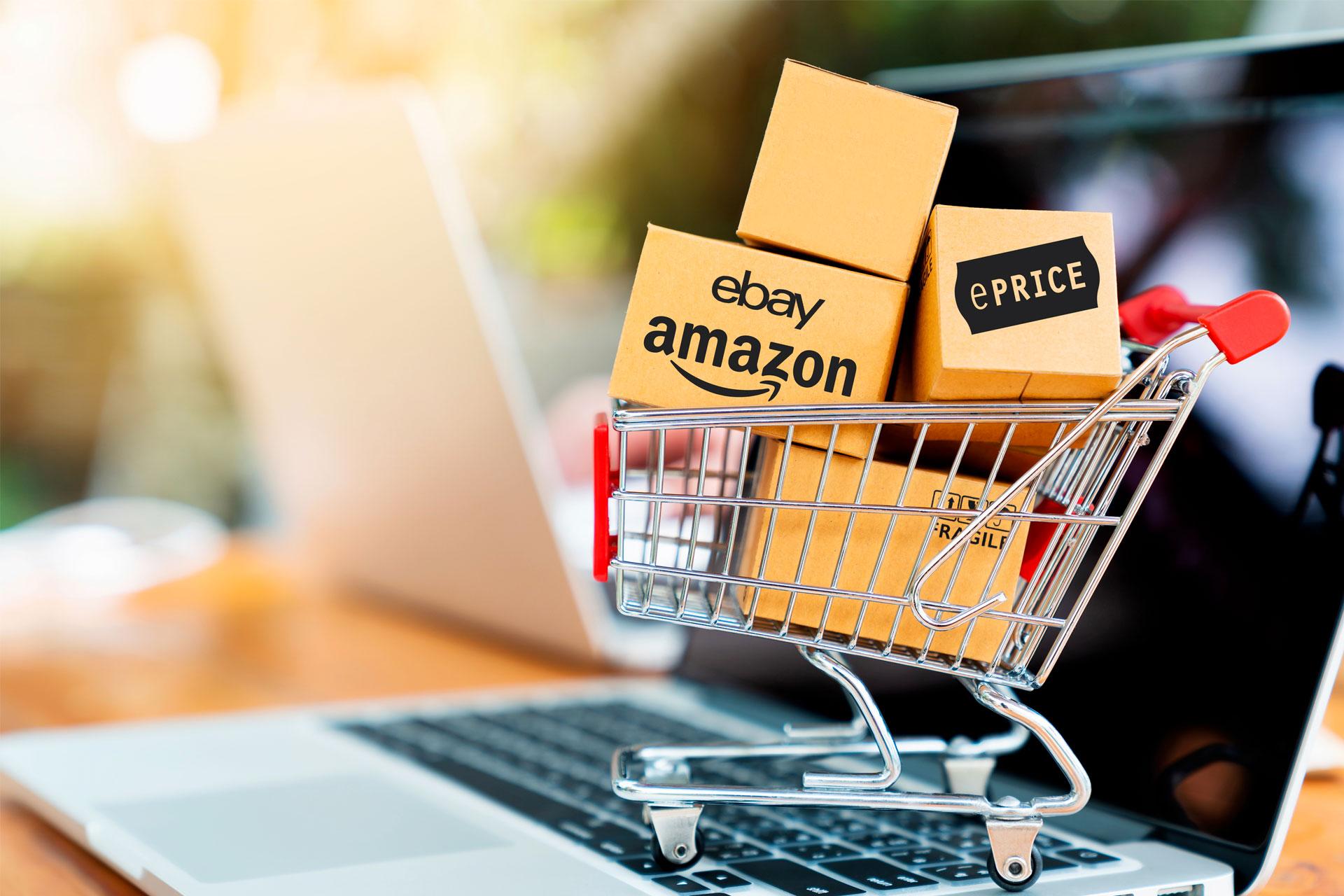 Banner pacchetto gestione e-commerce Telnet Data