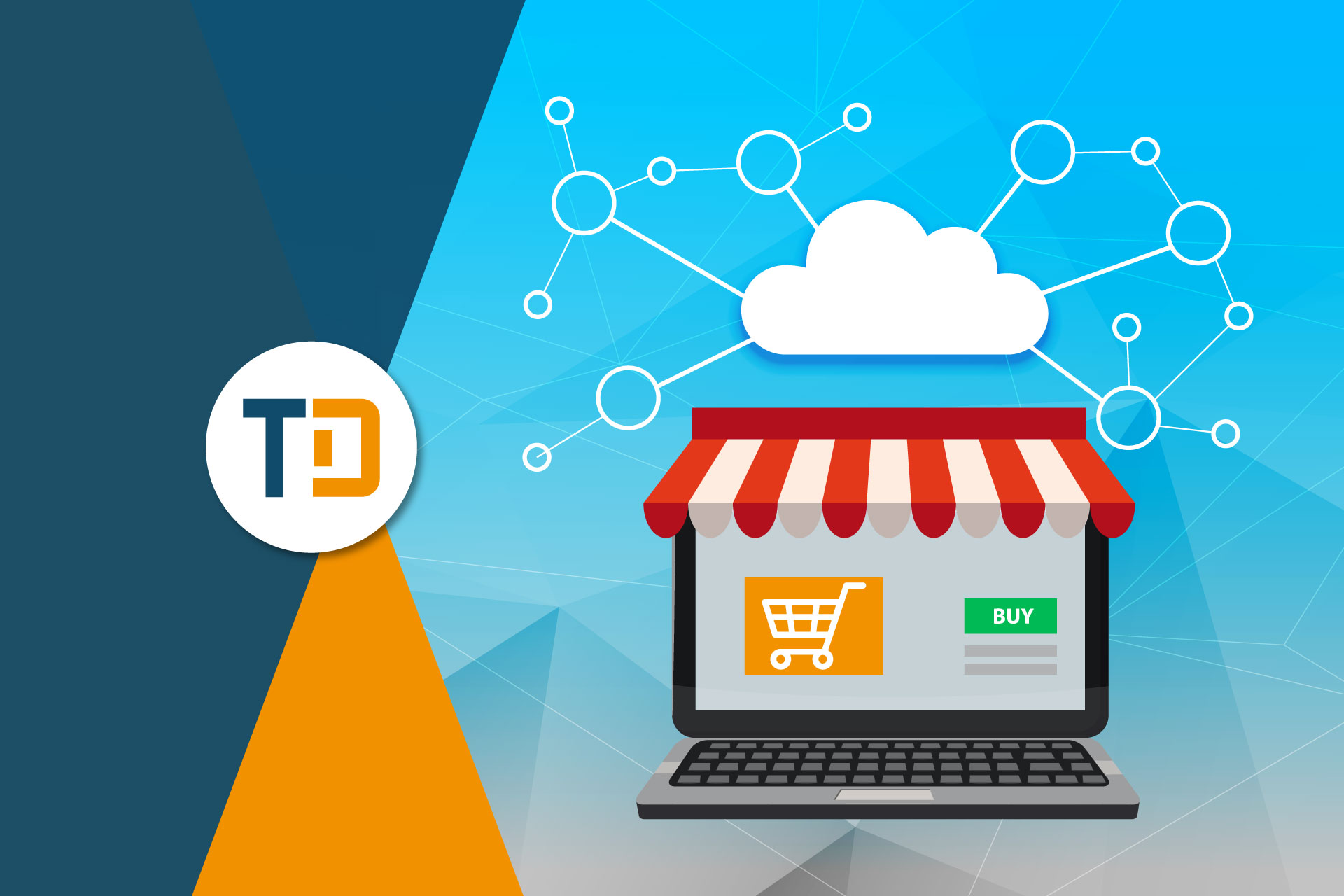 Cloud computing per e-commerce, tecnologia utilizzata nel software gestionale ecommerce Telnet Data