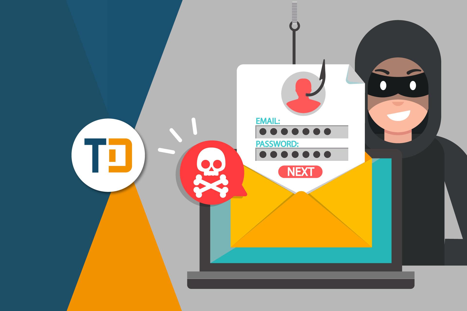 Ecommerce truffe phishing