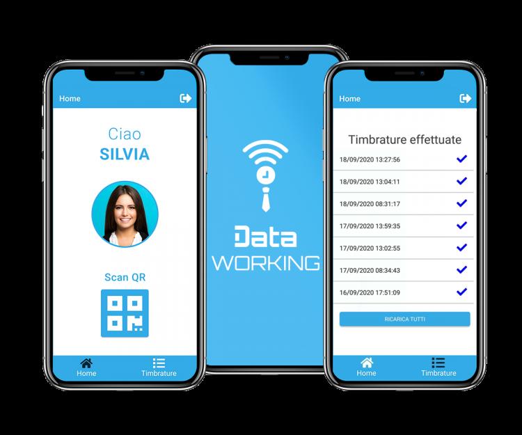 Data Working app screenshot