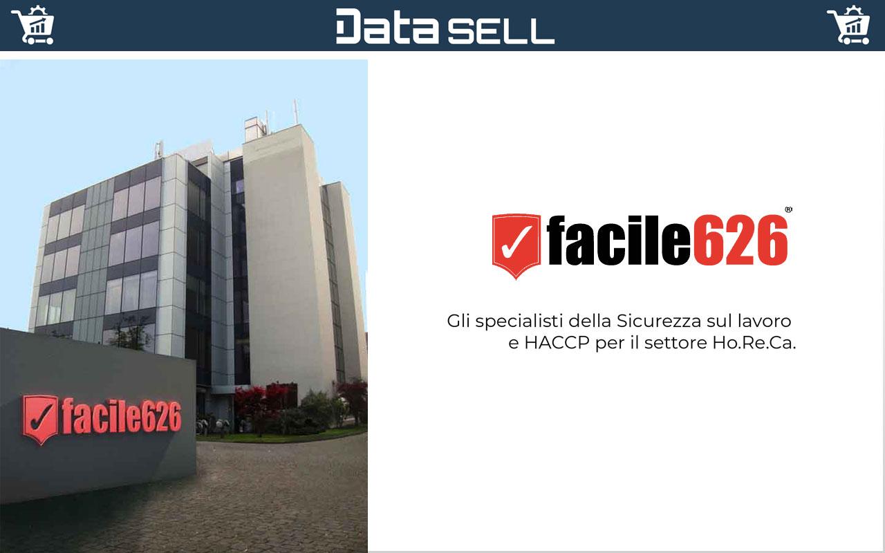 Facile626 utilizza Data Sell per gestire il proprio sito ecommerce, il magazzino e le spedizioni