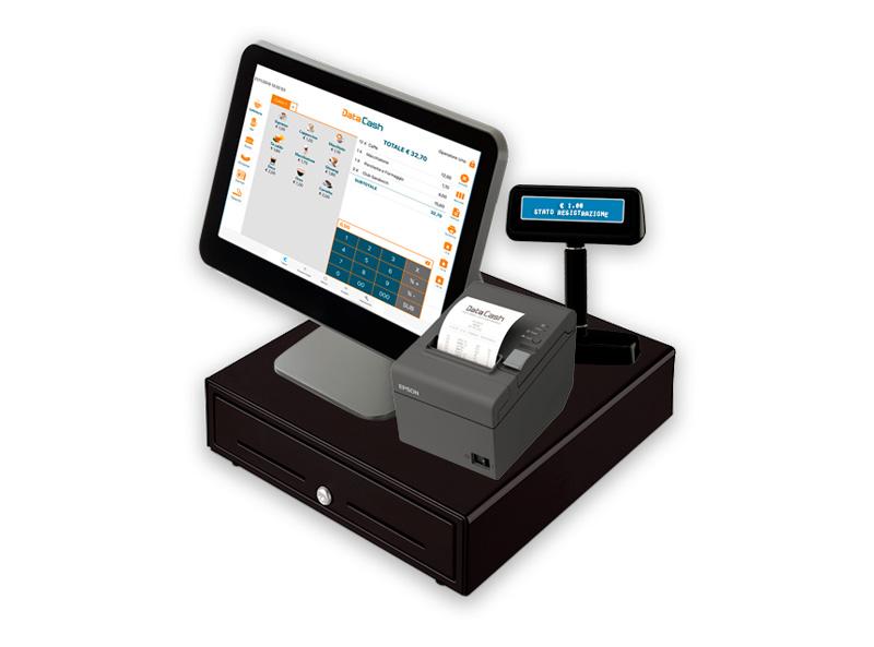 Data Cash app scontrini elettronici e gestione punto cassa su tablet e stampante fiscale