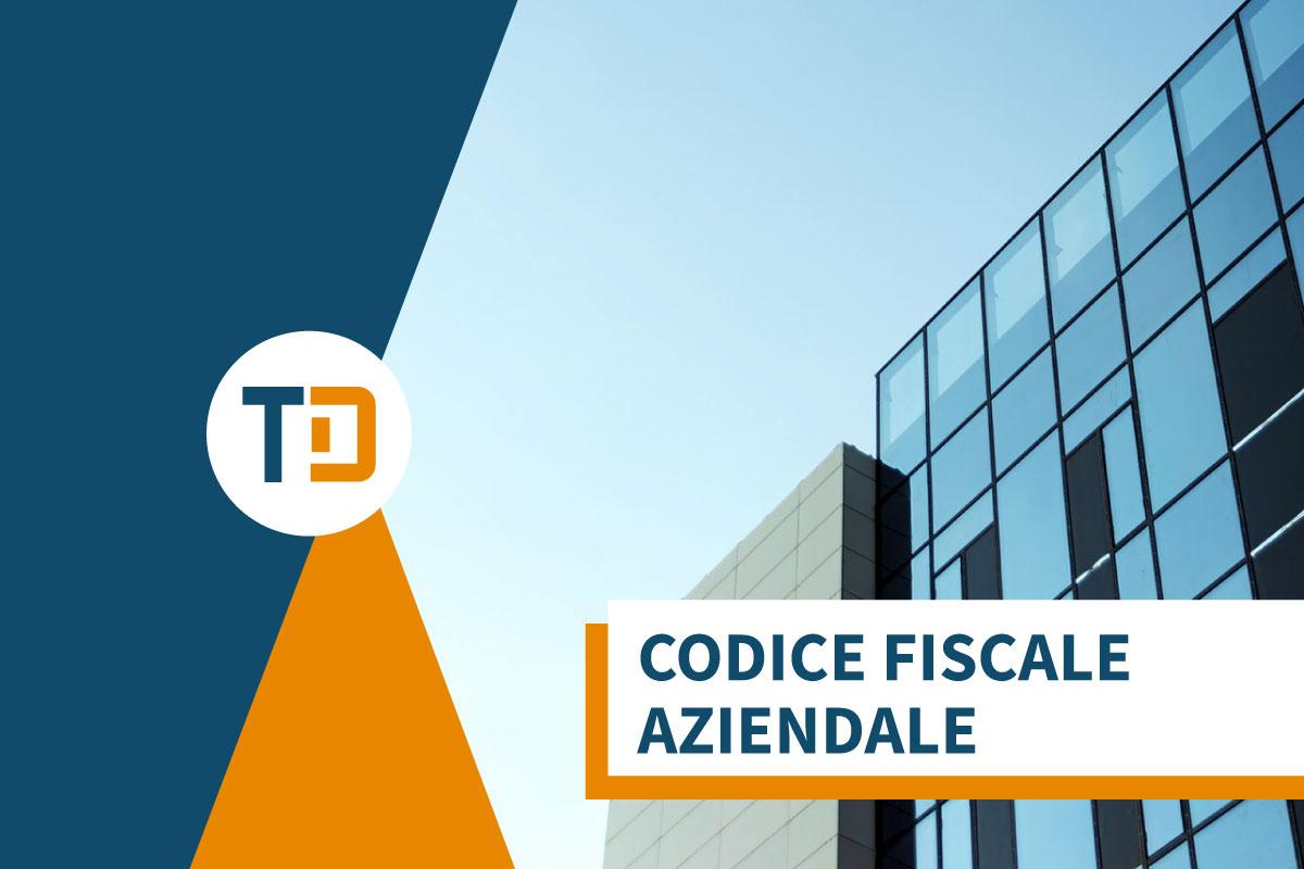 codice fiscale azienda
