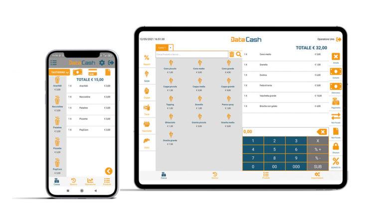 data cash smartphone tablet