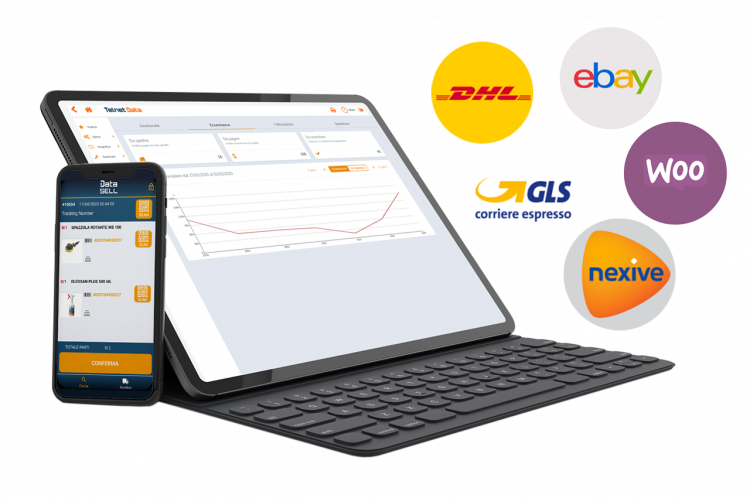 Gestionale ecommerce Data Sell integrazione corrieri e marketplace