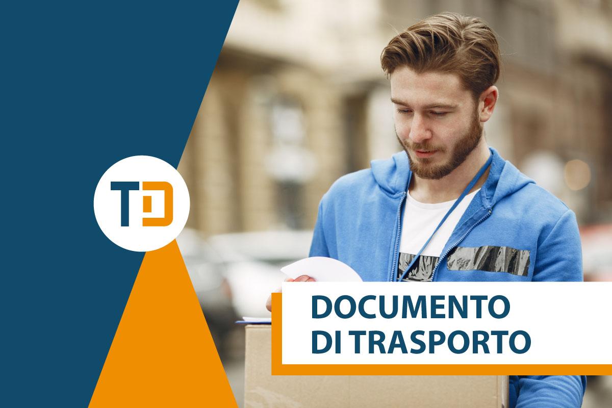documento di trasporto ddt corriere