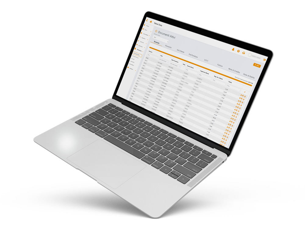 documenti attivi data cash